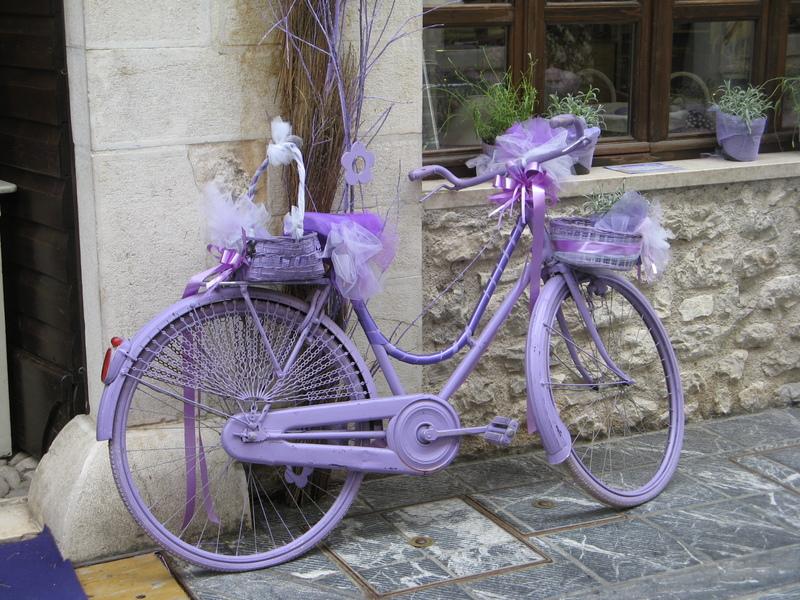 Venzone, bicicletta