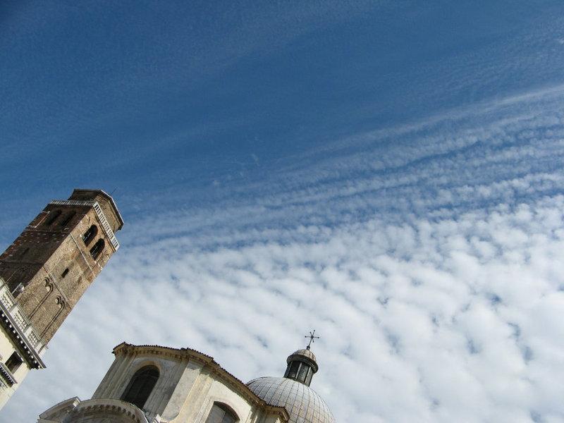 cielo e nuvole a Venezia