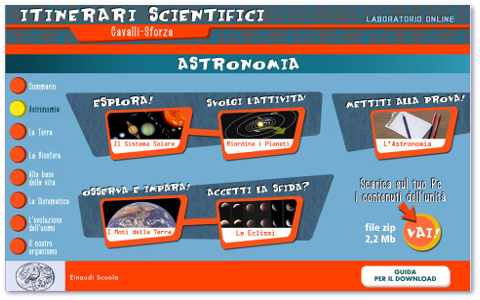 Astronomia scuola